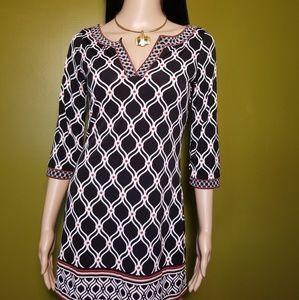 White House Black Market Dress, SizeXXSTunic 3/4